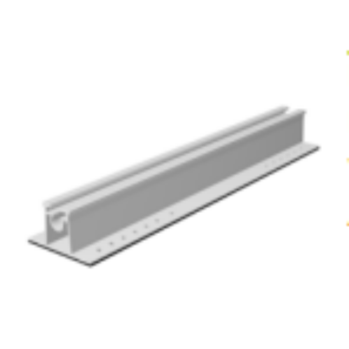 S-Flex trapézlemez sín 375mm (kiemelőhöz)