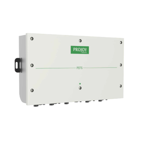 Projoy tűzvédelmi kapcsoló (PEFS-EL40H-10) 5 sztring, 10 pólus,  20A/40A, MC4 csatlakozóval