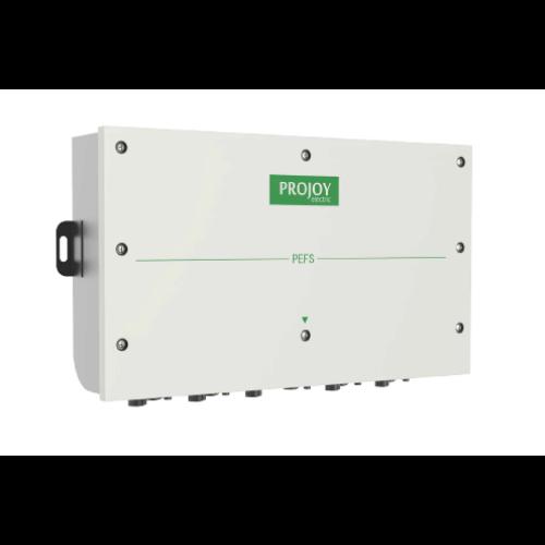 Projoy tűzvédelmi kapcsoló (PEFS-EL40H-8) 4 string, 8 pólus, 20A/40A, MC4 csatlakozóval